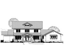 Craftsman Style Home Design Plan: 21-623