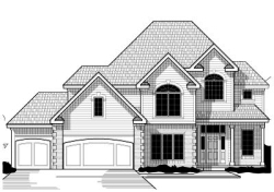 Traditional Style Home Design Plan: 21-637