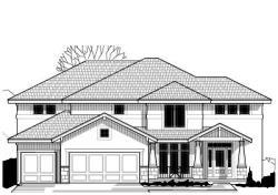 Craftsman Style Home Design Plan: 21-646