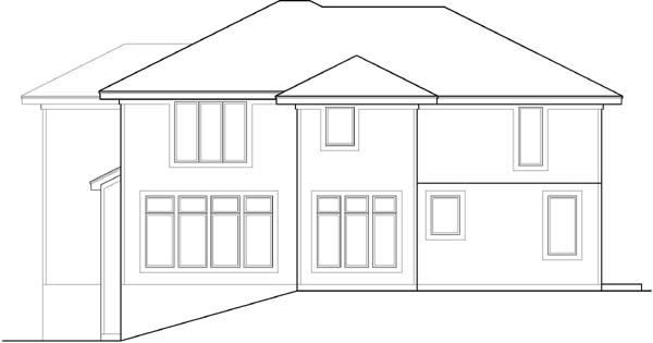 Rear Elevation Plan: 21-647