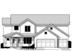 Craftsman Style Home Design Plan: 21-658