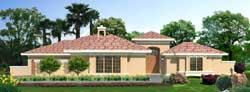Sunbelt Style Floor Plans Plan: 21-663