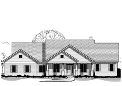 Craftsman Style Home Design Plan: 21-675