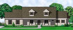 Country Style Home Design Plan: 21-713