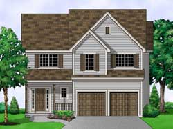Traditional Style House Plans Plan: 21-724
