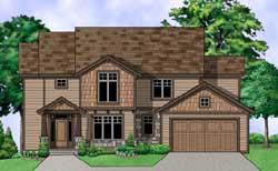 Craftsman Style House Plans Plan: 21-727