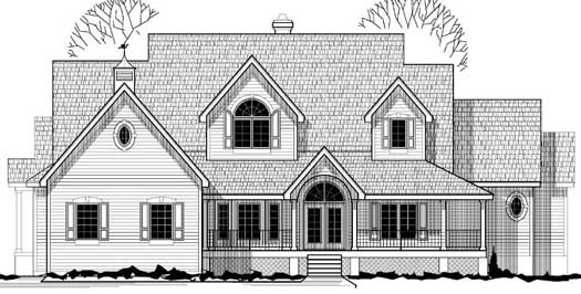 Farm Style House Plans Plan: 21-730