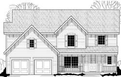 Farm Style Floor Plans Plan: 21-743
