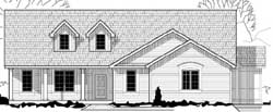 Ranch Style House Plans Plan: 21-745