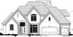 European Style Floor Plans Plan: 21-771