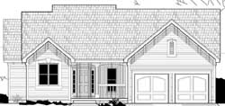 Country Style Home Design Plan: 21-787