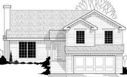 Traditional Style Floor Plans Plan: 21-794