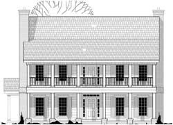 Plantation Style House Plans Plan: 21-806