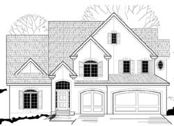 Traditional Style House Plans Plan: 21-810