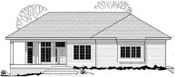 Traditional Style Floor Plans Plan: 21-830