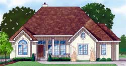 Traditional Style Floor Plans Plan: 21-840