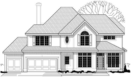 Traditional Style Floor Plans Plan: 21-842