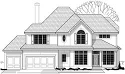 Traditional Style House Plans Plan: 21-842