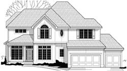 Traditional Style House Plans Plan: 21-843