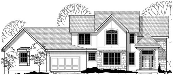 Craftsman Style Home Design Plan: 21-859