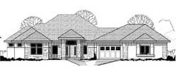 Contemporary Style Home Design Plan: 21-917