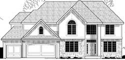 Traditional Style House Plans Plan: 21-933