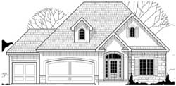 Traditional Style House Plans Plan: 21-984