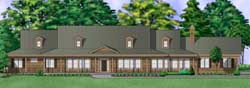Country Style House Plans 21-994
