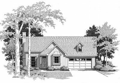 Country Style House Plans Plan: 22-107