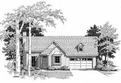 Country Style Floor Plans Plan: 22-107