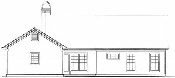 Rear Elevation Plan: 22-108