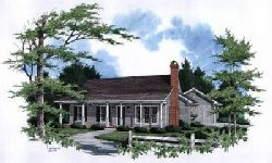 Country Style Home Design Plan: 22-108