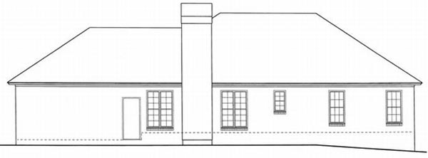 Rear Elevations Plan:22-109