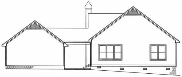 Rear Elevations Plan:22-110