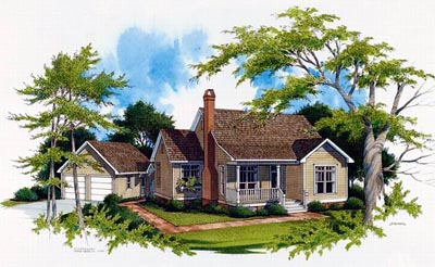 Country Style House Plans Plan: 22-111