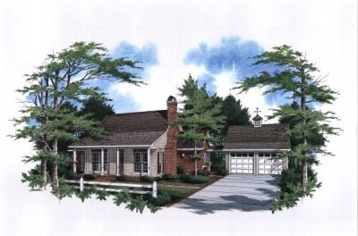 Country Style Floor Plans Plan: 22-112
