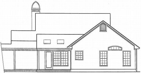 Rear Elevation Plan: 22-112
