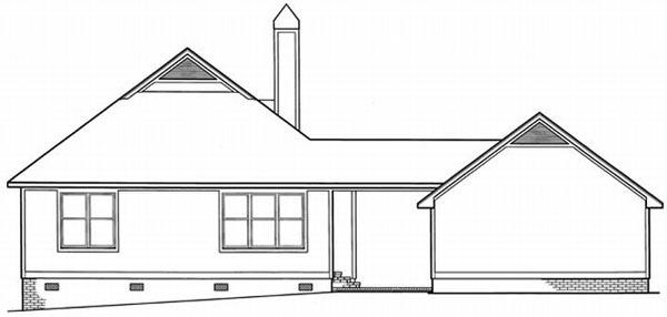 Rear Elevations Plan:22-113