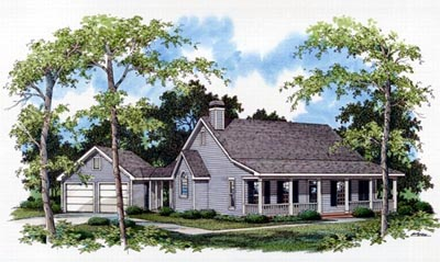 Country Style Floor Plans 22-115
