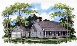 Country Style House Plans 22-115