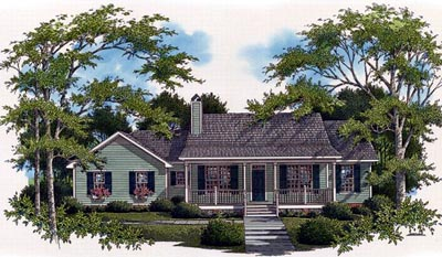 Country Style House Plans Plan: 22-116