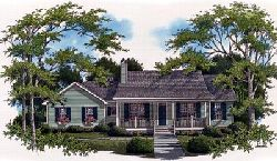 Country Style Floor Plans 22-116