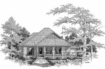 Country Style Floor Plans Plan: 22-118