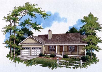 Country Style Floor Plans 22-119