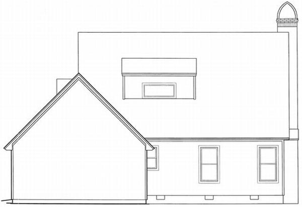 Rear Elevation Plan: 22-120