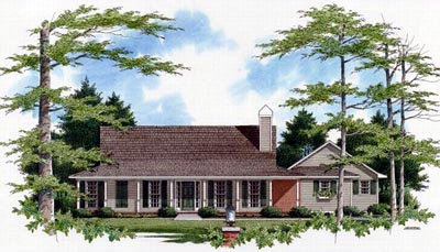 Country Style Home Design 22-121