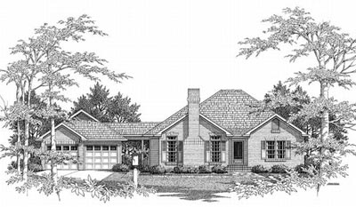 Traditional Style Home Design Plan: 22-122