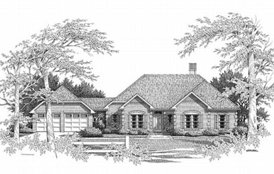 Traditional Style Floor Plans Plan: 22-123