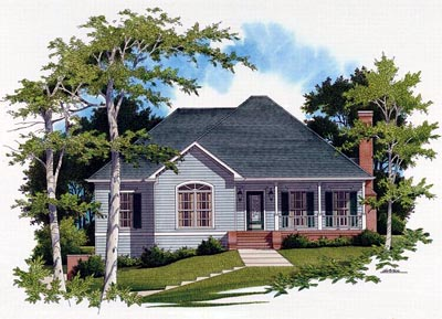 Country Style House Plans Plan: 22-127