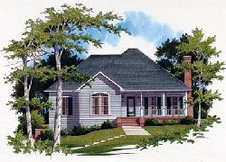 Country Style Floor Plans Plan: 22-127